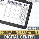 Comparing Fractions  - 4th Grade Google Classroom™ Math Activities | 4.NF.2