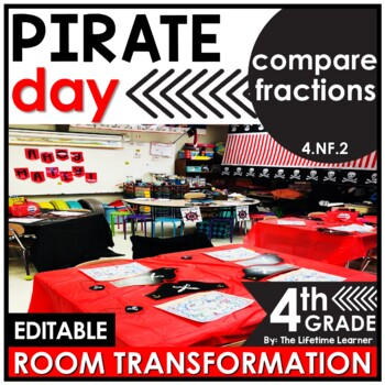 Comparing Fractions 4th Grade | Pirates Classroom Transformation