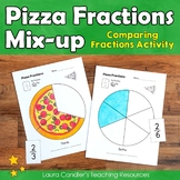 Comparing Fractions Activity: Pizza Fractions Mix Up (4th