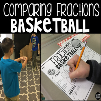Comparing Fractions Basketball