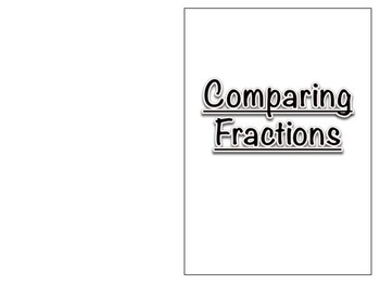 Comparing Fractions Book