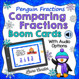 Comparing and Ordering Fractions Boom Cards with Audio (Pe