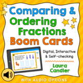 Comparing Fractions Digital Boom Cards for Distance Learning Math