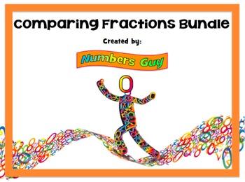 BUNDLE: 4 Comparing Fractions Lessons (Part of Fractions Unit)