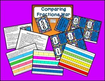 Comparing Fractions Bundle - 4 games