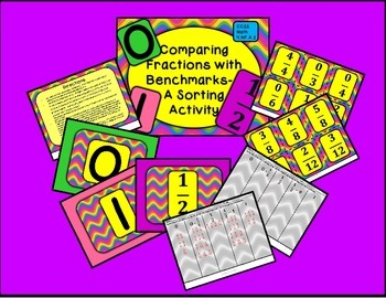 Comparing Fractions Bundle - 4 games