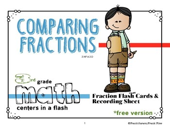 Comparing Fractions Center Activity