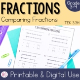 Comparing Fractions- Compare Fractions using Multiple Strategies