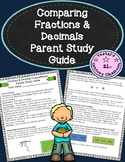 Fractions & Decimals Comparisons Parent Study Guide