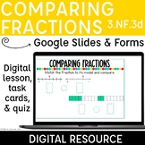 Comparing Fractions Digital Resources Distance Learning 3.NF.3d