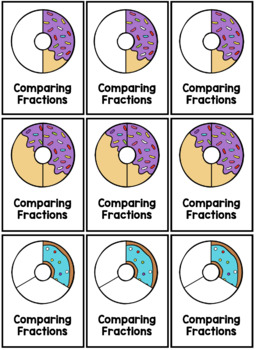 Comparing Fractions: Donut Game