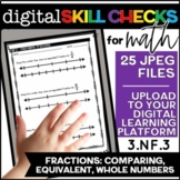 Comparing Fractions, Equivalent Fractions   Distance Learning 3.NF.3