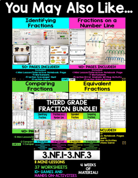 Comparing Fractions FREEBIE!