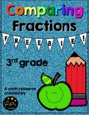 Comparing Fractions FREEBIE (3rd grade)