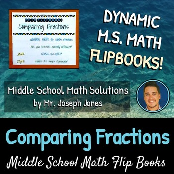 Comparing Fractions Flip Book