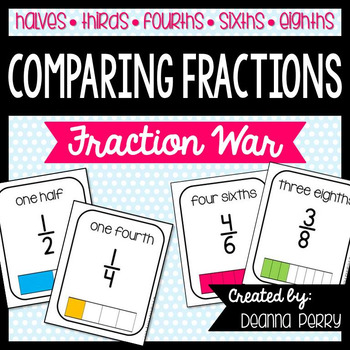 Comparing Fractions- Fraction War