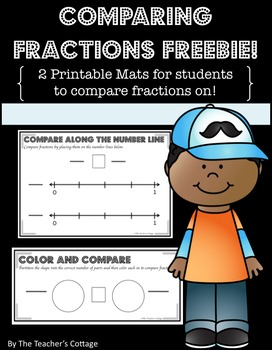 Comparing Fractions Freebie