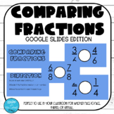 Comparing Fractions- GOOGLE SLIDES (GROWING)