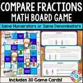 Comparing Fractions Activity: Comparing Fractions Game