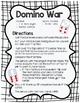 Comparing Fractions Game- Domino War