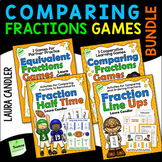 Comparing Fractions Games Bundle | Comparing and Ordering