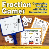 Comparing Fractions Games for Math Centers or Cooperative