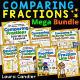 Comparing Fractions Bundle: Games, Lessons, Task Cards, an