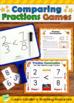 Comparing Fractions Mega Bundle: Games, Lessons, Task Cards, and Assessments