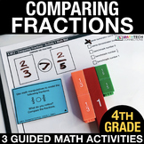 Comparing Fractions - Guided Math Activities and Exit Tick