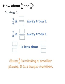 Comparing Fractions Guided Practice Worksheet 2