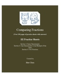 Comparing Fractions (HI Practice Sheets)