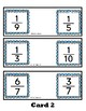 Comparing Fractions Hungry Hungry Alligator Task Cards Mat
