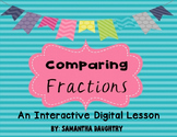 Comparing Fractions-Interactive Lesson for Google Classroom