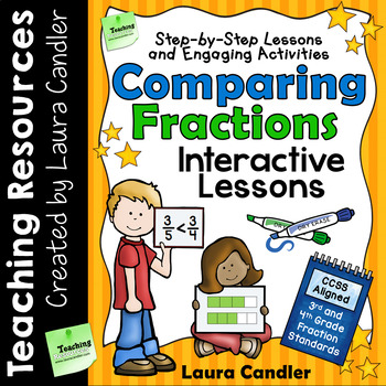 Ebooks resources lesson plans teachers pay teachers comparing fractions lessons activities and word problems fandeluxe Choice Image