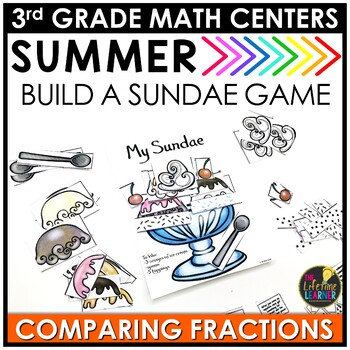 Comparing Fractions Summer Game