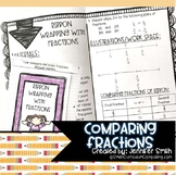 Comparing Fractions Lesson for Interactive Notebooks