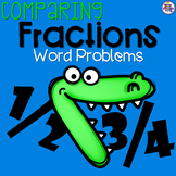 Comparing Fractions Word Problems - Mixed  {4.NF.A.2}