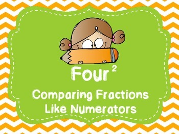 Comparing Fractions Like Numerators