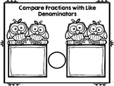 Comparing Fractions (Like Numerators OR Denominators)