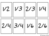 Comparing Fractions Map