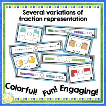 Comparing Fractions Match Up