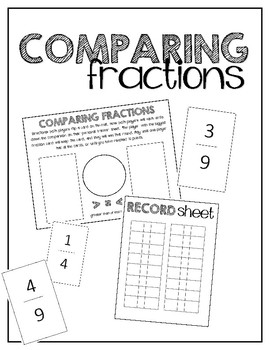 Comparing Fractions / Math Centers