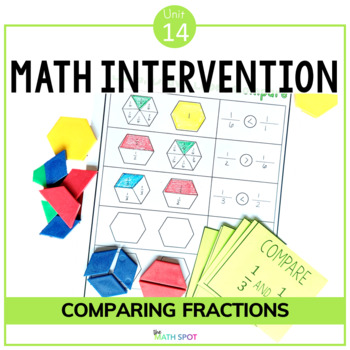 Comparing Fractions Math Intervention and RtI