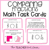 4th Grade Comparing Fractions Task Cards | Comparing Fract