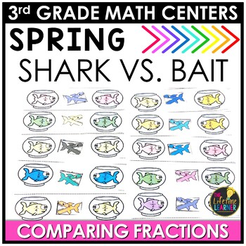 Comparing Fractions May Math Center