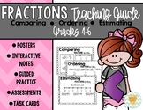 Comparing, Ordering, Estimating Fractions: Notes, Guided Practice, Assessments