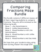 Comparing Fractions, Mixed Numbers and Decimals Worksheet Bundle