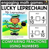 Saint Patrick's Day Comparing Fractions Game