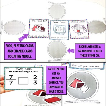 Comparing Fractions (Numbers Version)
