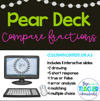 Comparing Fractions Pear Deck